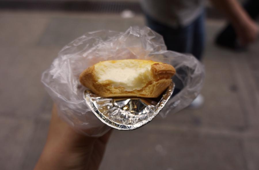 wan chai market cheese tart