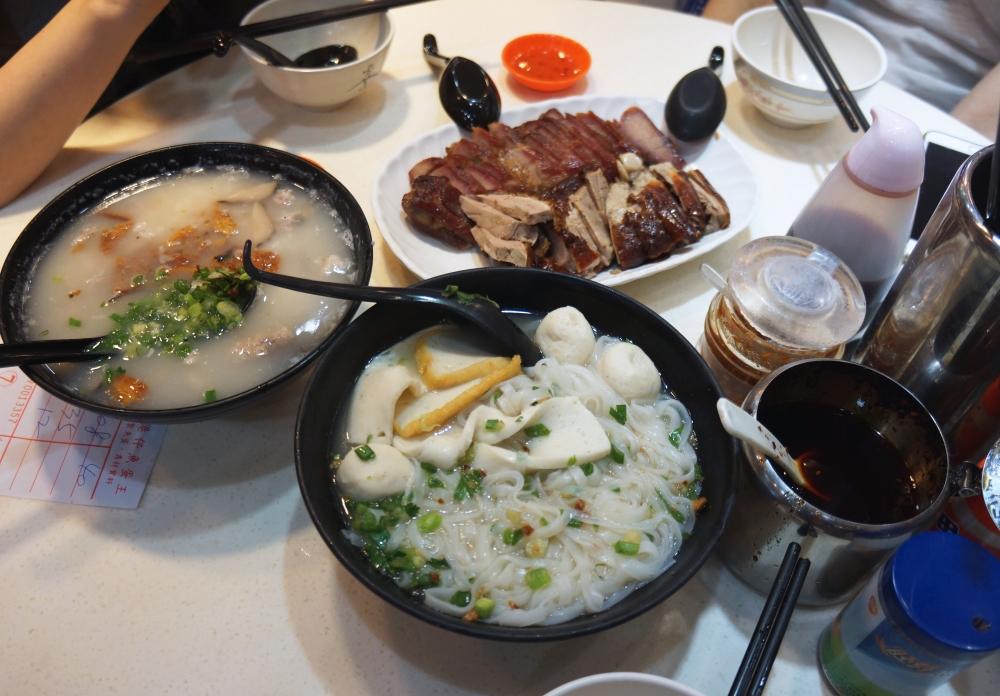Mongkok oyster porridge