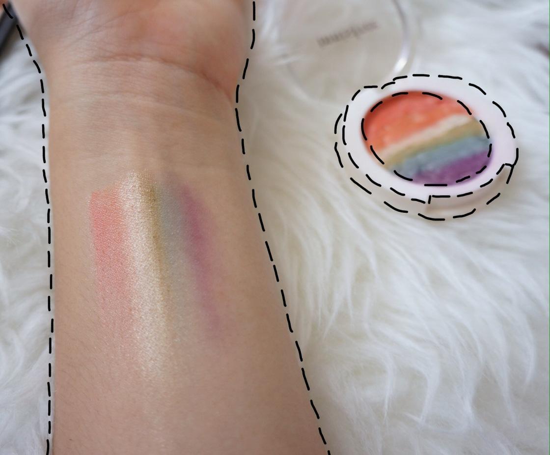 Rainbow highlight DIY