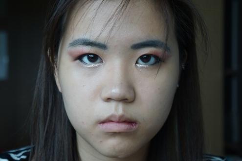 Wonder woman eye makeup