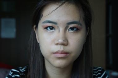 Wonder woman halloween makeup