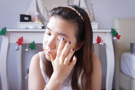 Christmas party makeup tutorial