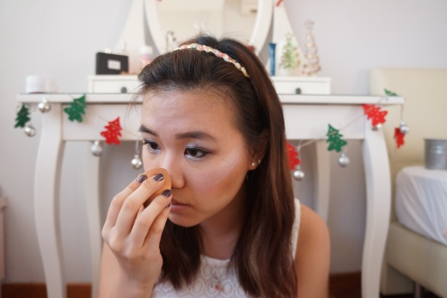 Holiday glam makeup tutorial