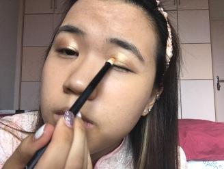 CNY makeup look