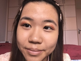 simple cny makeup look