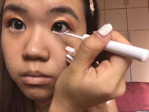 Festive CNY makeup look