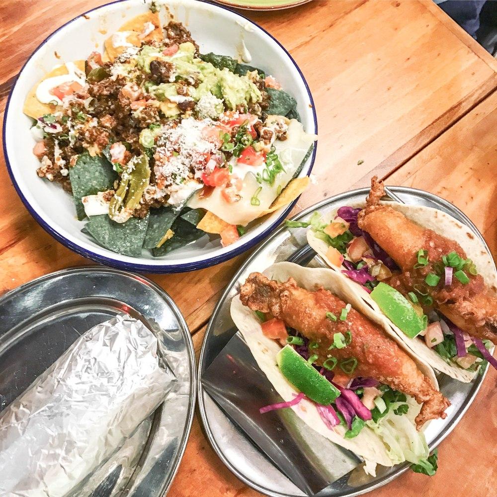 Barrios mexican food