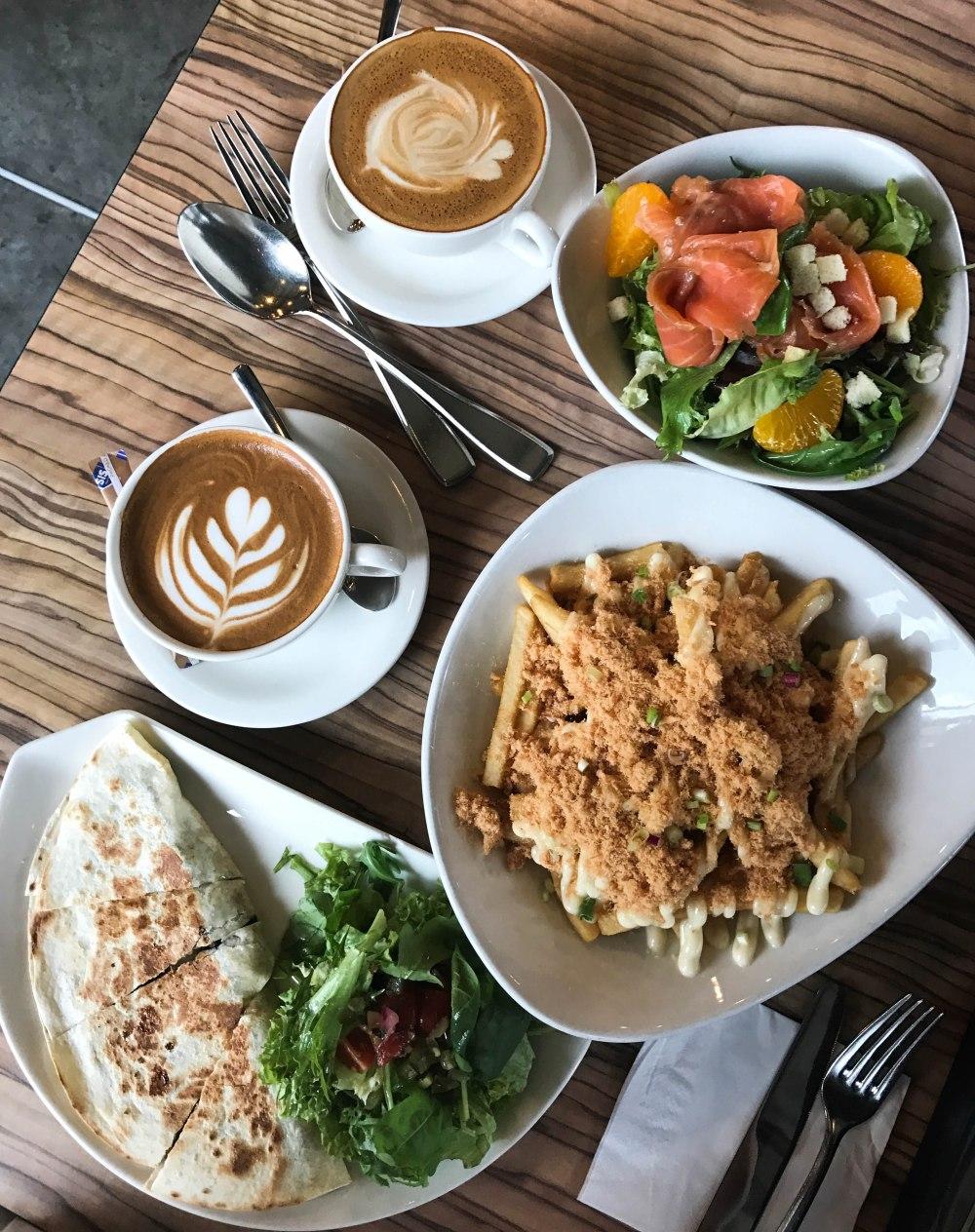The grub Singapore cafe