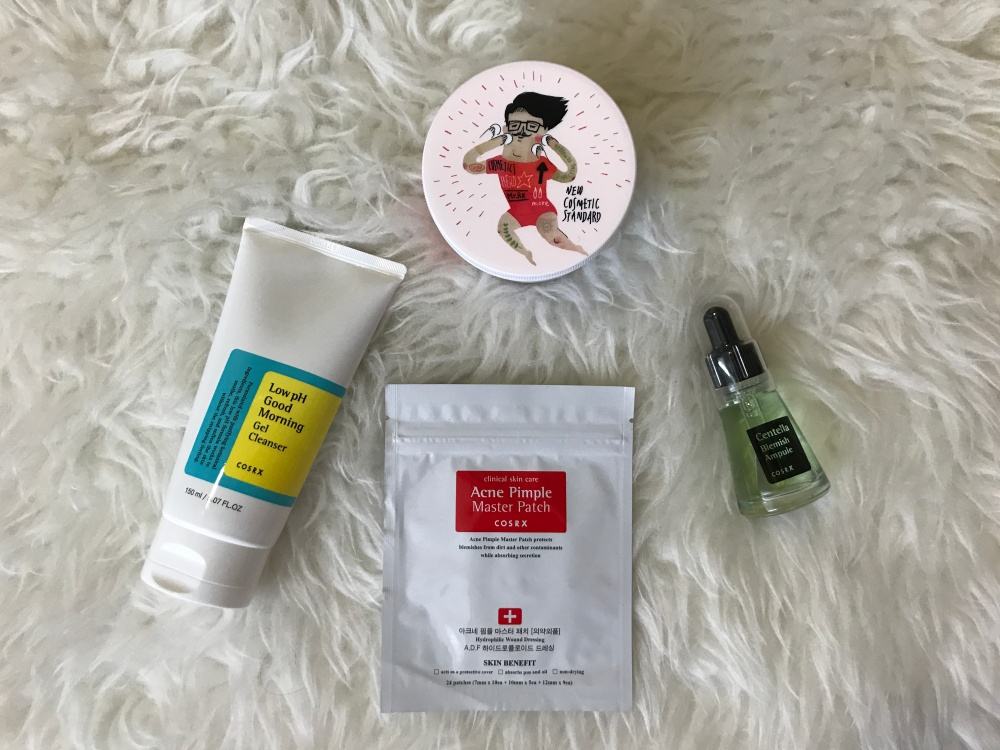 COSRX haul and review