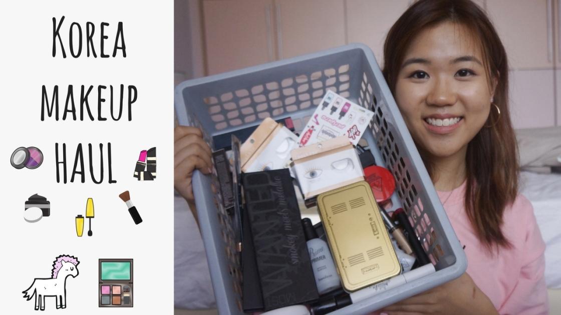 KOREA beauty makeup cosmetics HAUL