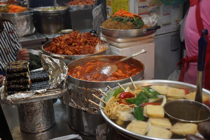 Korea Gwangjang market tteobokki