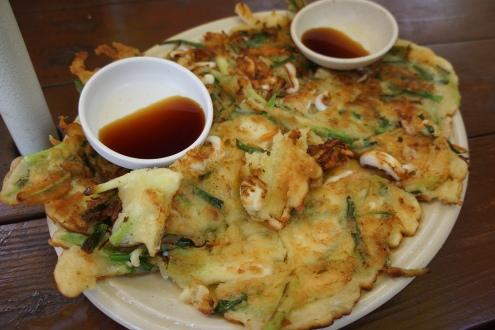 Korea Sokcho Seoraksan seafood pancake