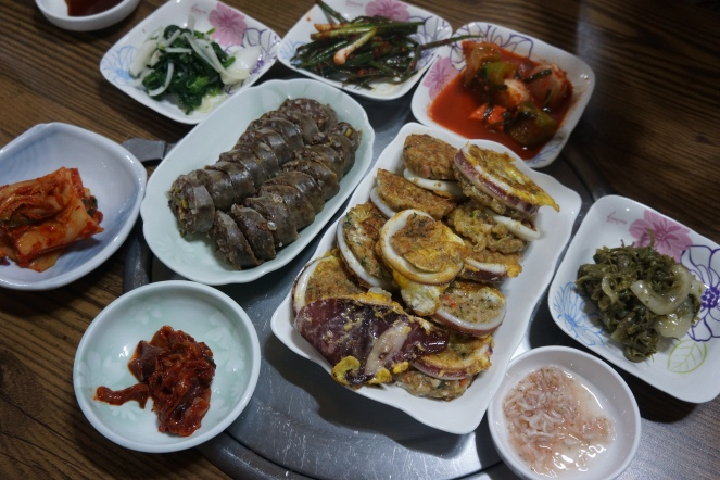 Korea Sokcho seafood restaurant
