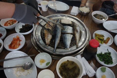 Korea Sokcho no.88 seafood restaurant