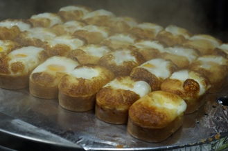 Korea Myeongdong street food egg bread