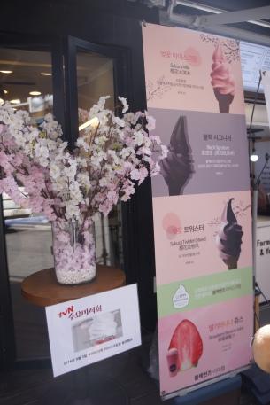 Korea Ewha Blackburn's softserve icecream