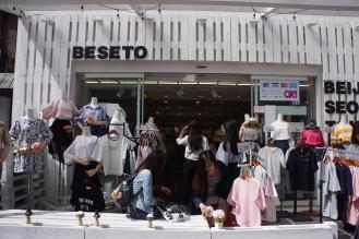 Korea Ewha clothes shopping