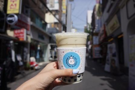 Korea Ewha bubble tea