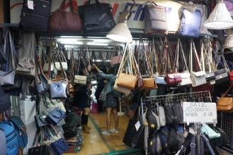 Korea Ewha shoes and bag shopping
