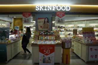 Gangnam Underground shopping skinfood