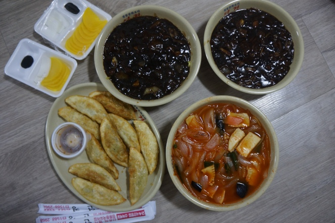Korea delivery food