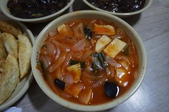 Korea delivery food jjampong