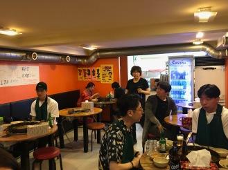 Hongdae Korea spicy dak ghalbi